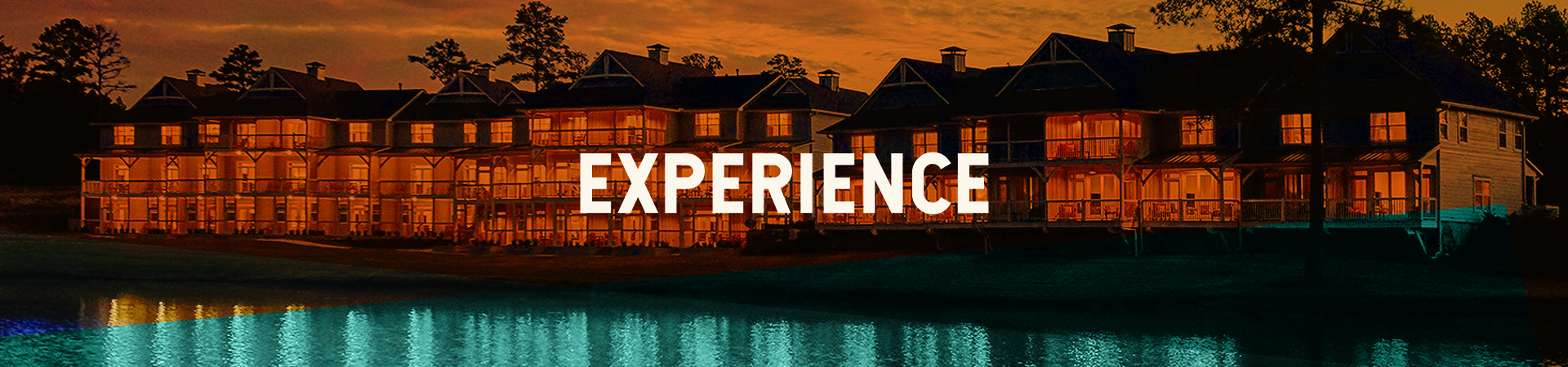 Experience Web Banner, Foxhall Resort villas